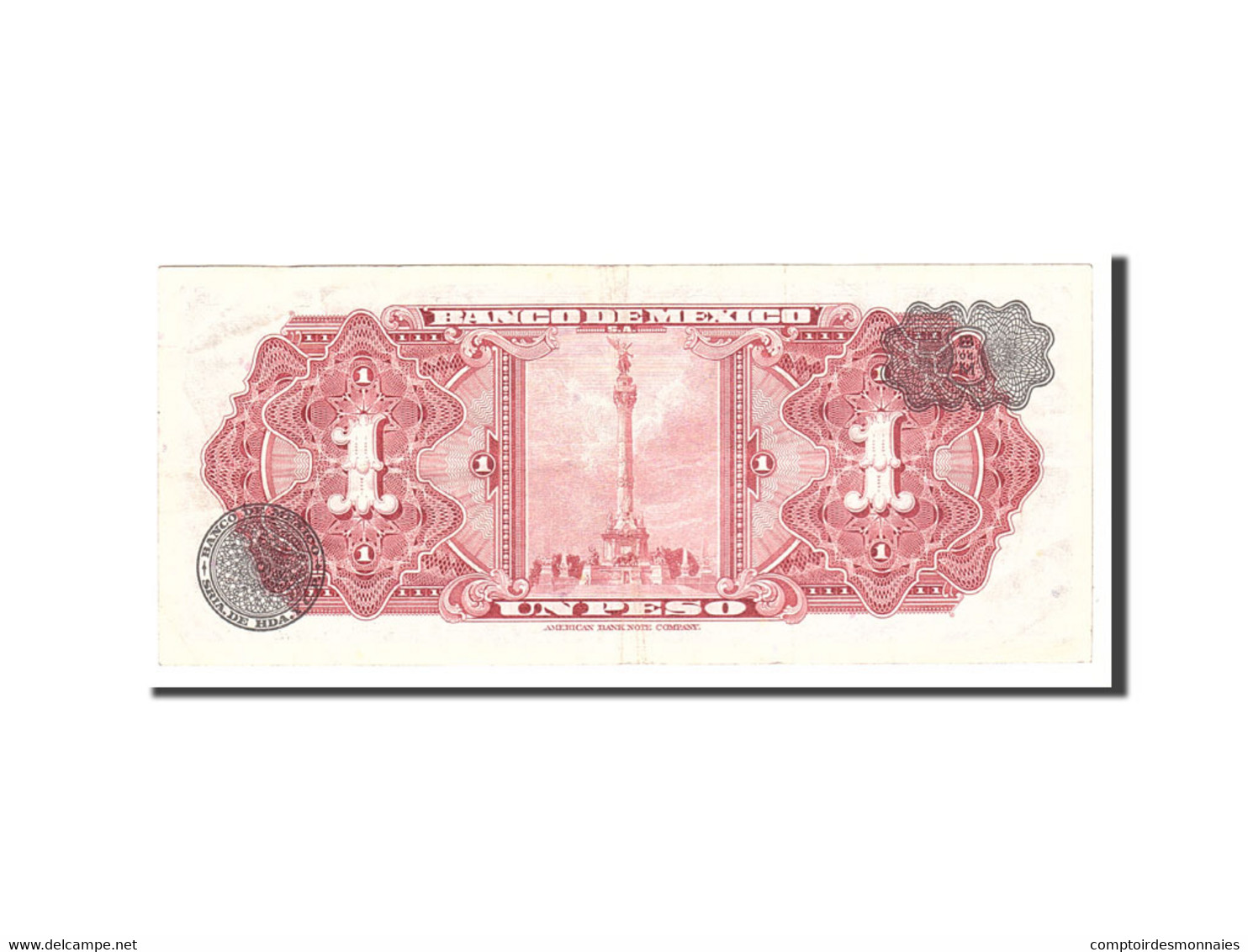 Mexique, 1 Peso, 1970, 1970-07-22, KM:59l, TTB - Mexique