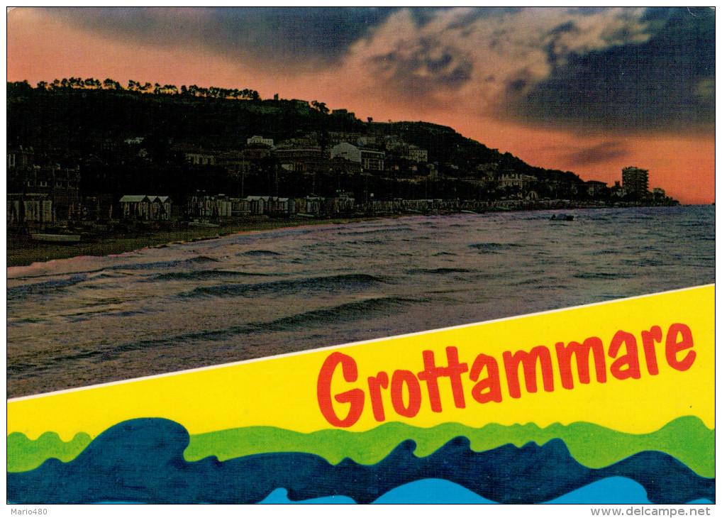 GROTTAMMARE  (AP)   TRAMONTO   (VIAGGIATA) - Italien