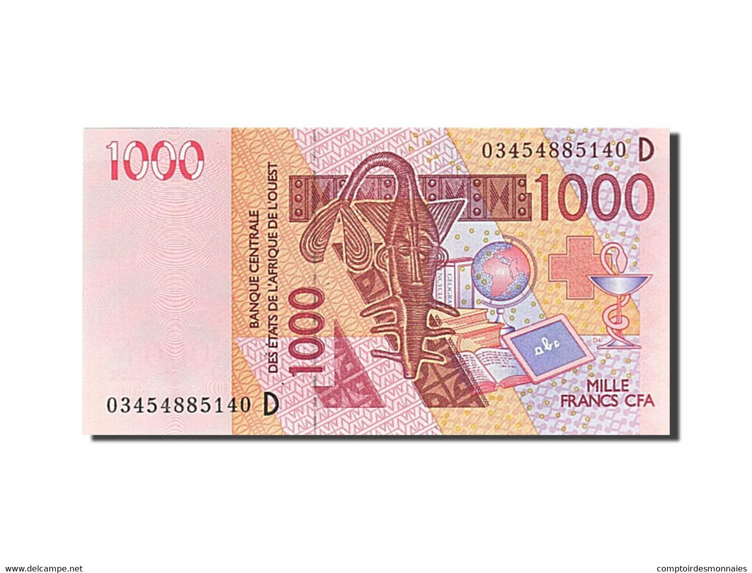 West African States, 1000 Francs, 2003, 2003, KM:815Ta, NEUF - Togo