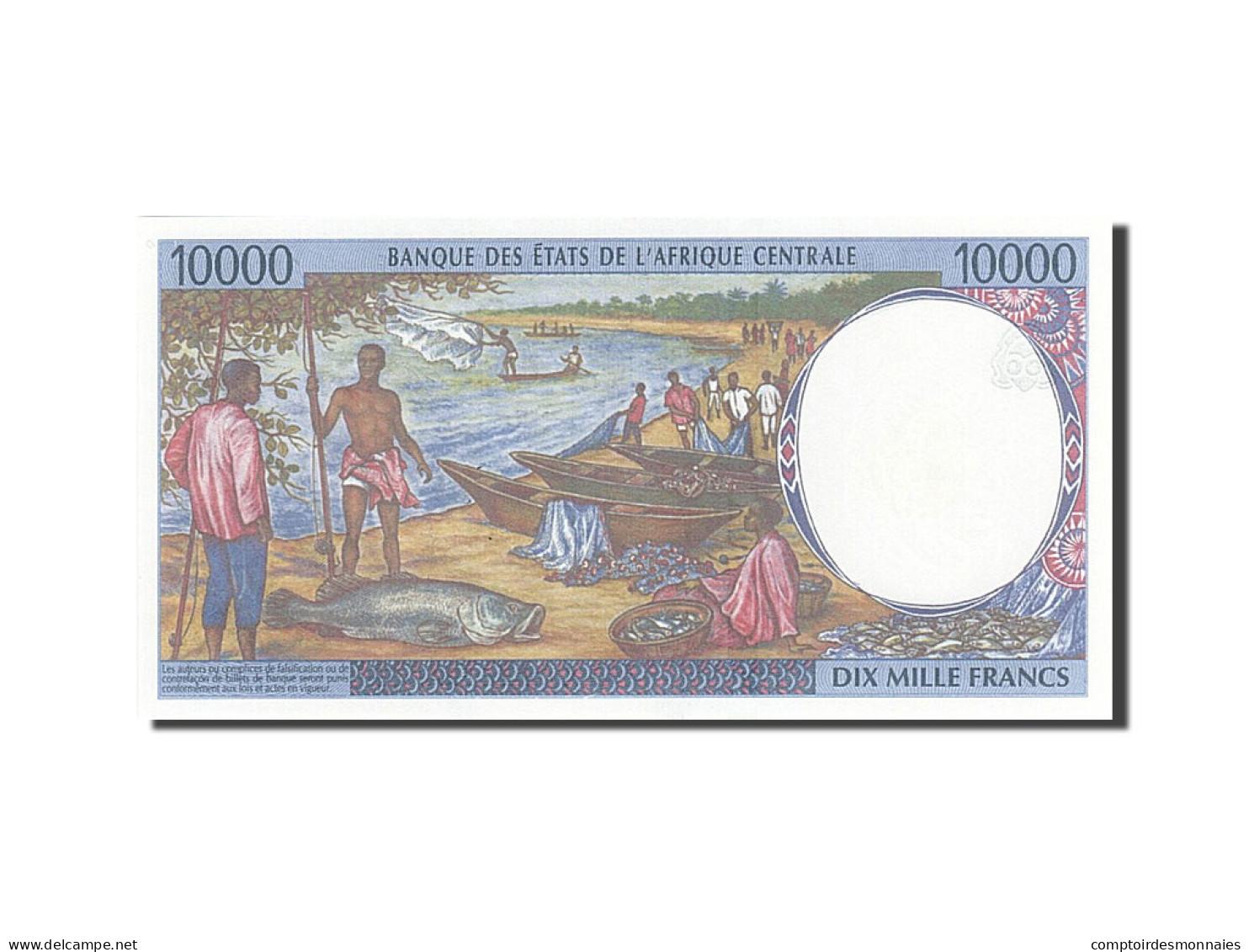 États De L'Afrique Centrale, Tchad, 10,000 Francs,1993-1994, 1999,KM:605Pe, SPL+ - Chad
