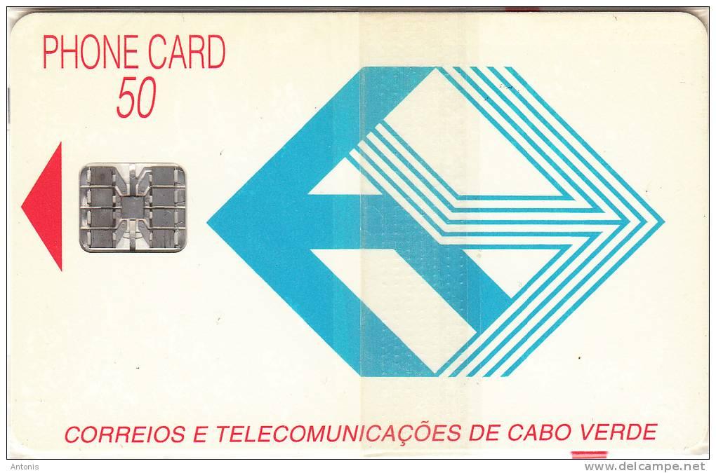 CAPE VERDE - Telecom Logo(blue), First Chip Issue, Mint - Cap Vert