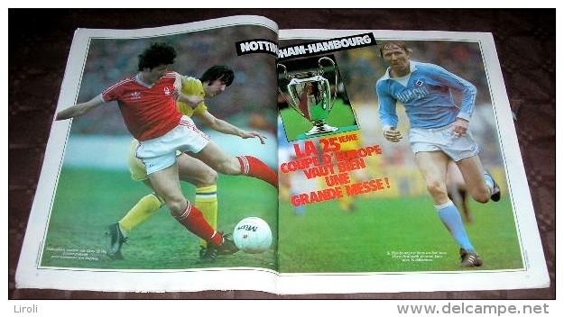 MONDIAL. 1980. N 03. NOTTINGHAM HAMBOURG. LA BUNDESLIGA. TREVOR FRANCIS. Posters : DIDIER CHRISTOPHE. F.C. SOCHAUX - Sport