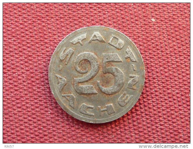 ALLEMAGNE Jeton De 25 Pfennig Stadt AACHEN - Monétaires/De Nécessité