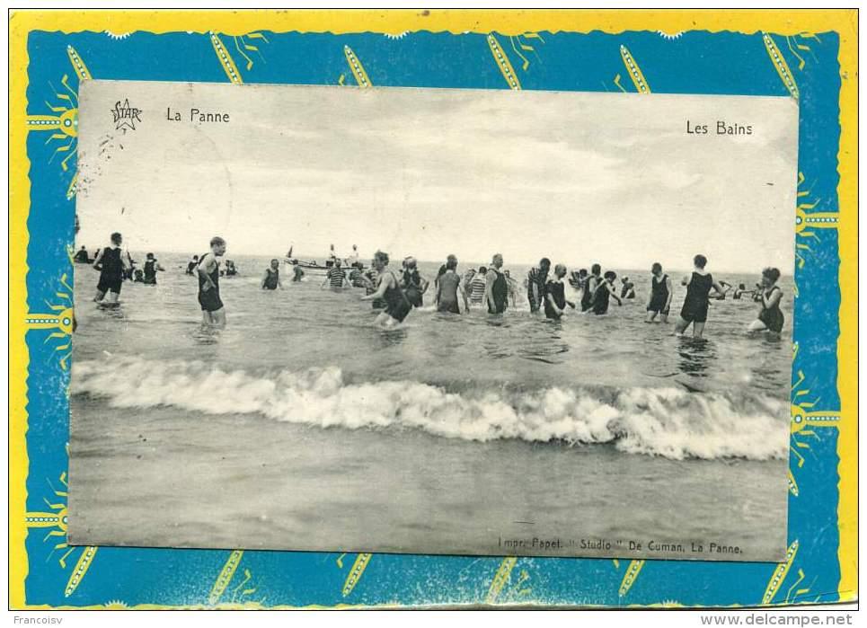 La Panne - Les Bains.  Port Be 0.80€  Edit Studio De Cuman - De Panne