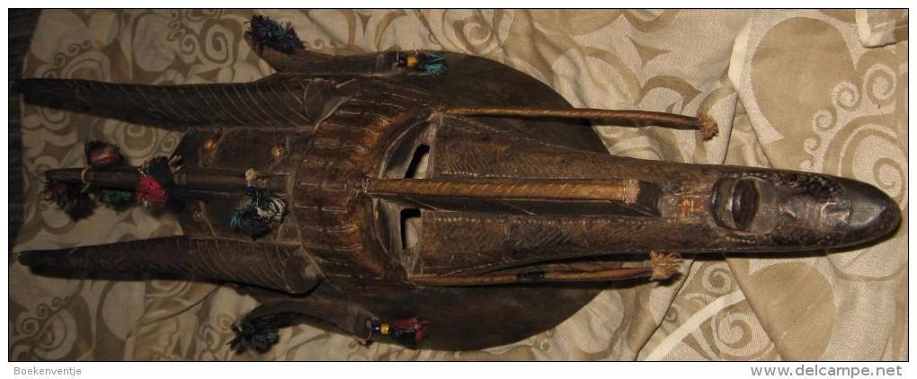 BAMBARA Masker Antiloop Uit Mali / Burkina Faso - Art Africain
