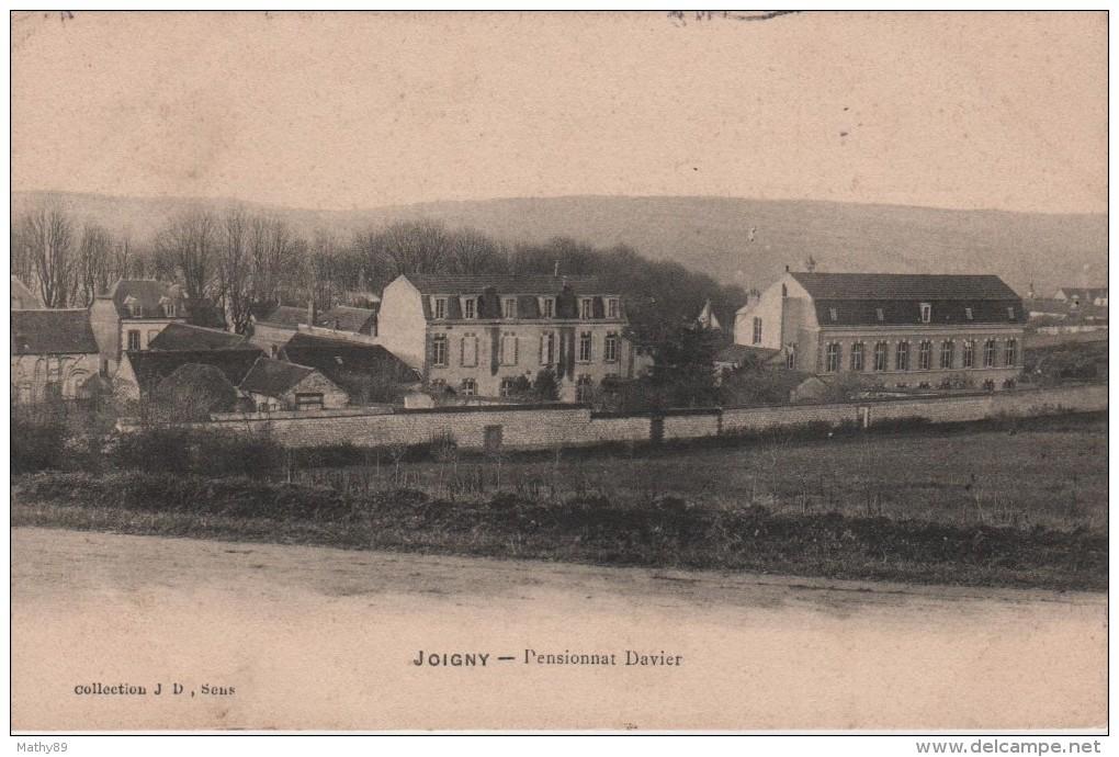 CPA 89. YONNE. JOIGNY.PENSIONNAT DAVIER - Joigny