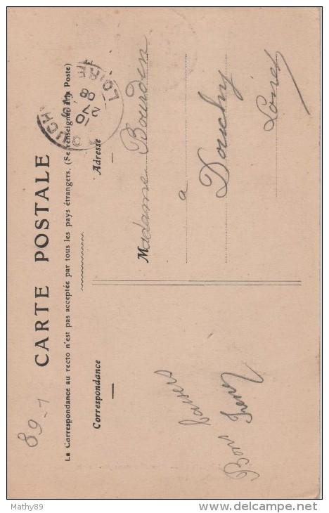 CPA 89. YONNE. JOIGNY. RUE MONTANT AU PALAIS - Joigny