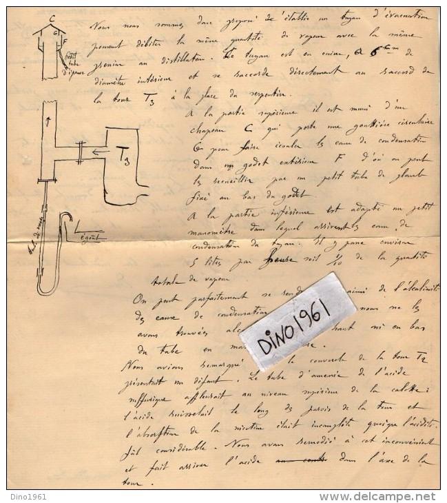VP3516 - TONNEINS - Lettre De La Direction Des Manufactures De L´Etat - Direction Des Tabacs  De Lot Et Garonne - Documents