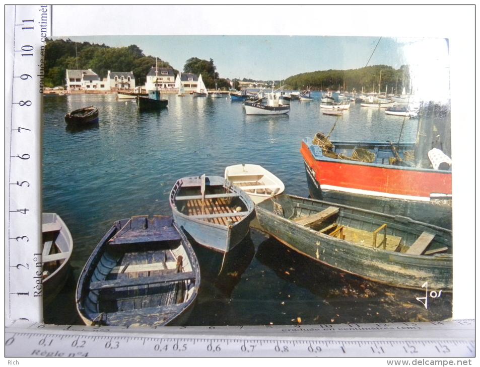 29 - MOELAN SUR MER - Le Port De Belon Et Riec Sur Belon - Moëlan-sur-Mer