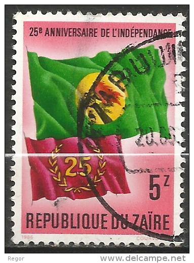 ZAIRE - N° YT 1212 - Oblit - 1980-89: Oblitérés