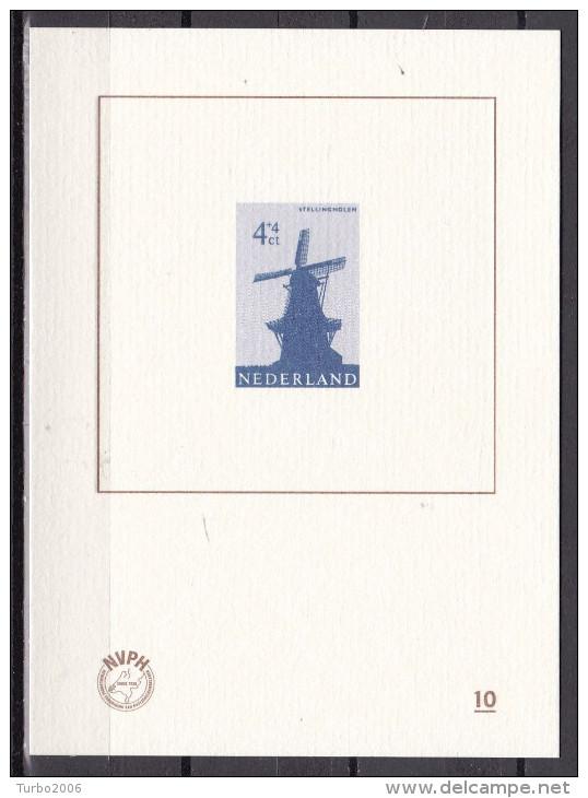 Nederland : 2012 Blauwdruk Stellingmolen 4 Cent (786) NVPH BD 10 - Ongebruikt