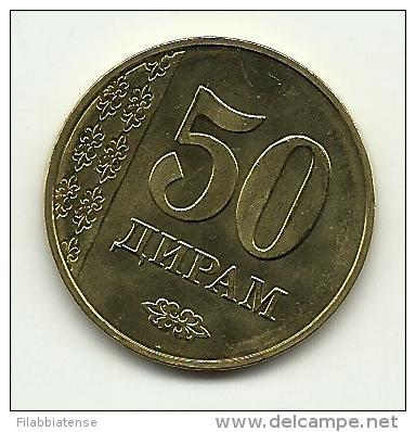 2011 - Tajikistan 50 Diram, - Tadjikistan