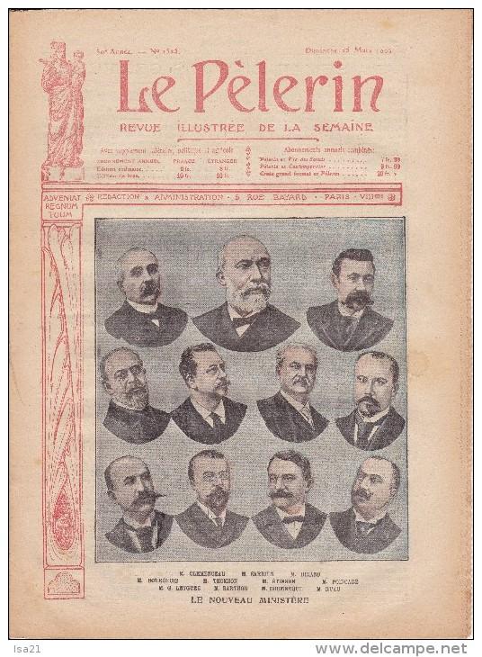 LE PELERIN 25 Mars 1906  Le Nouveau Ministère, Catastrophe De Courrières, - 1900 - 1949