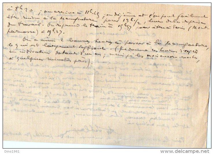 VP3544 - Tabac - Lettre De J.& O.G. PIERSON à PARIS Pour Mr Th. SCHLOESING Directeur Des Manufactures De L´Etat - Documents