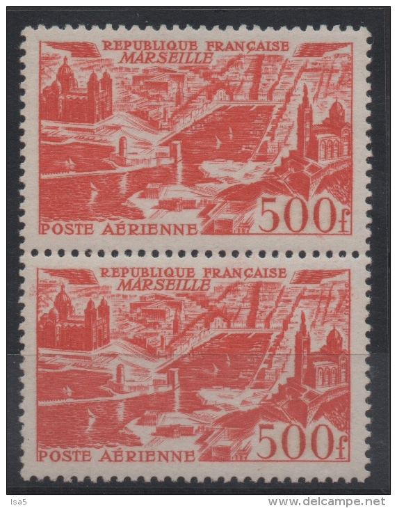 FRANCE - YT PA N° 27 Paire - Neufs ** - MNH - Cote: 140,00 € - 1927-1959 Nuovi