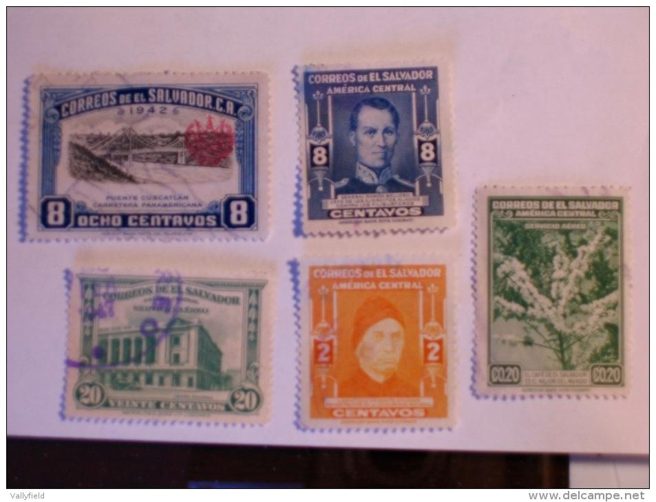 SALVADOR - EL SALVADOR  1940-7   LOT# 6 - Salvador