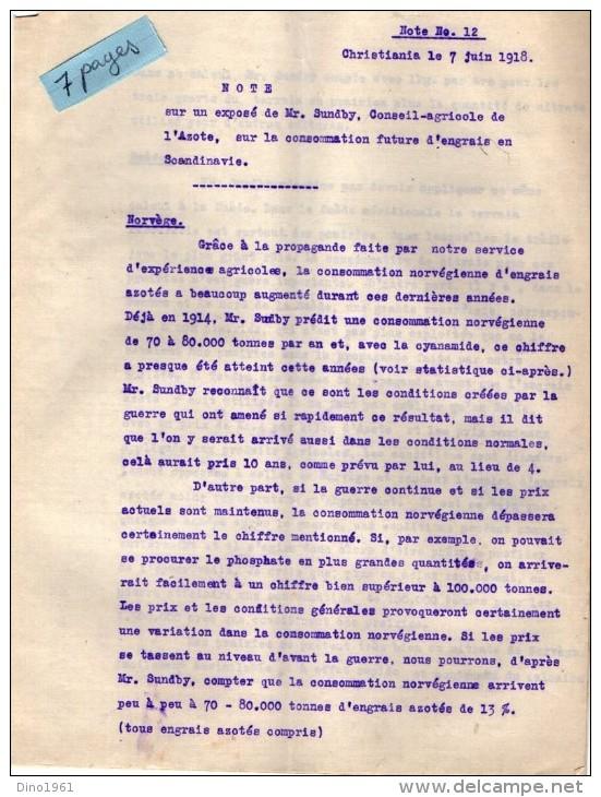 VP3560 - GAVARNIE GEDRE - CHRISTIANIA - Lot De Documents Concernant L´aménagement Des Chutes - Documents