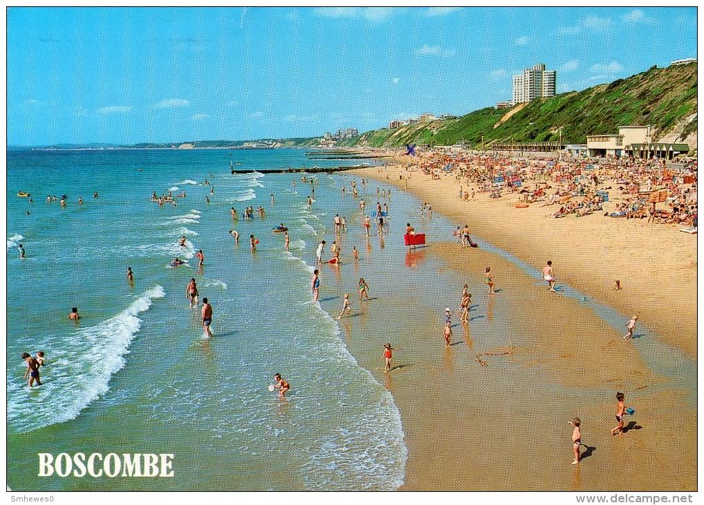 Postcard - Boscombe Beach, Dorset. 2-56-11-03 - Bournemouth (from 1972)