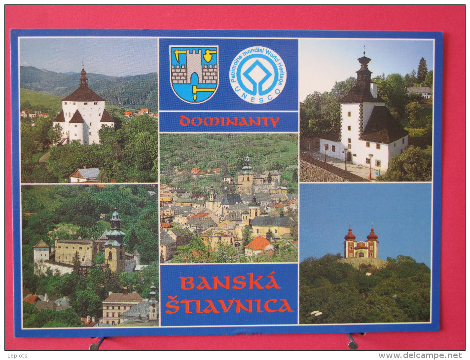 Slovaquie - Banská Štiavnica - Nový Zámok - Jolis Timbres - Scans Recto-verso - Slovaquie