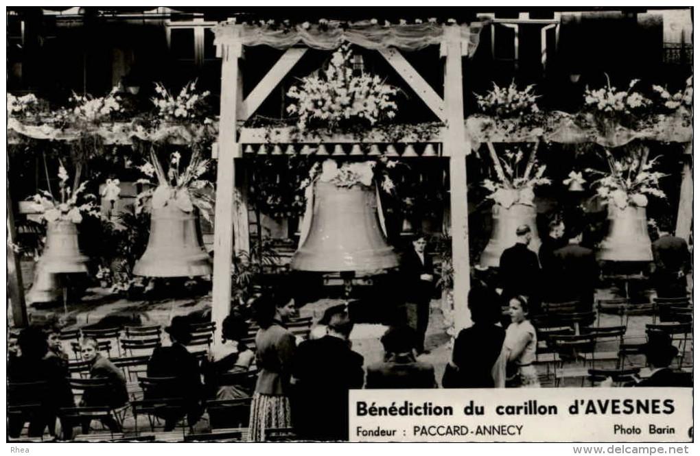 59 - AVESNES - Bénédiction Du Carillon - Cloches - Spécialiste De L´harmonie HUOU Agence à NANTES - Avesnes Sur Helpe