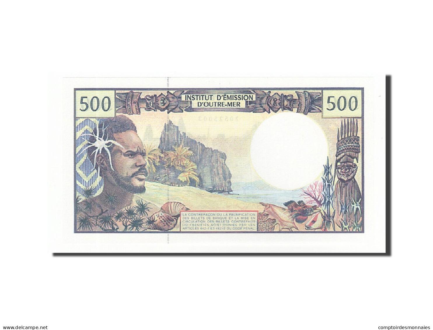 French Pacific Territories, 500 Francs, 1985-1996, KM:1b, Non Daté (1992), NEUF - Papeete (Polynésie Française 1914-1985)