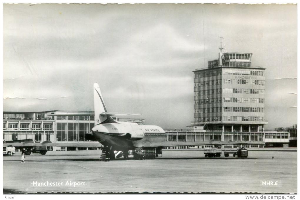 AVIATION(AIR FRANCE) MANCHESTER - 1946-....: Ere Moderne