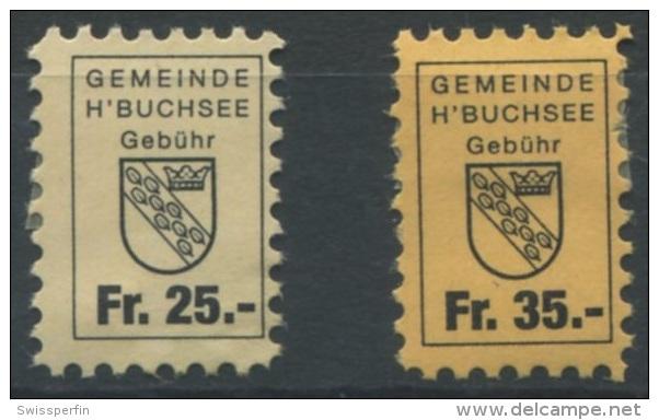 1047 - HERZOGENBUCHSEE Fiskalmarken - Steuermarken