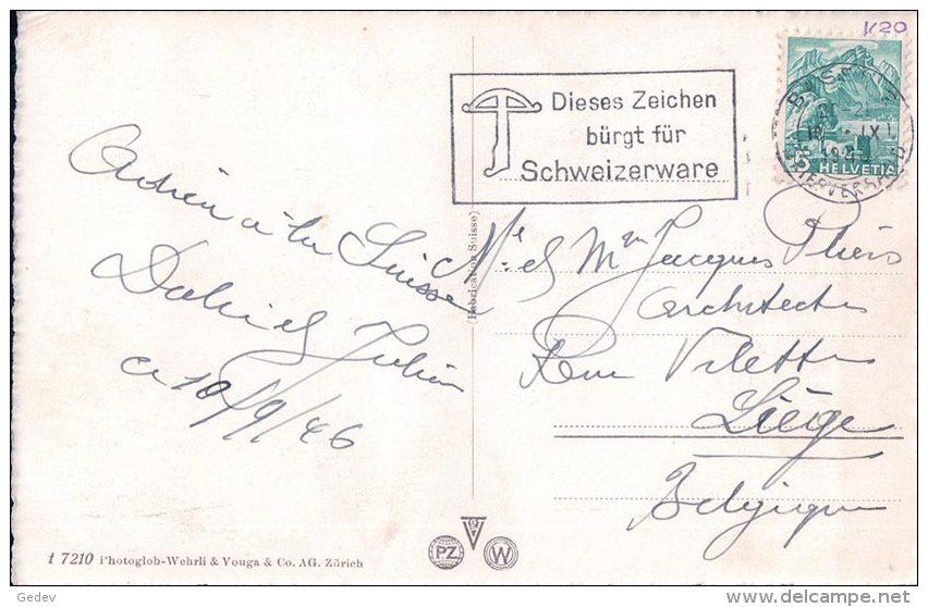 Basel, Handelsbank, Voitures Et Cyclistes (7210) - BS Bâle-Ville