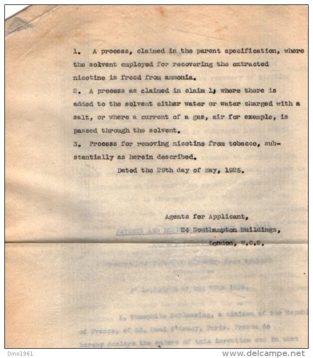 VP3626 - Lot De Documentation Sur La Tobacco Company à NEW YORK - AMSTERDAM - LONDON - Documents