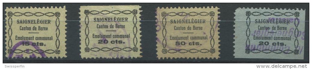 1083 - SAIGNLEGIER Fiskalmarken - Fiscaux