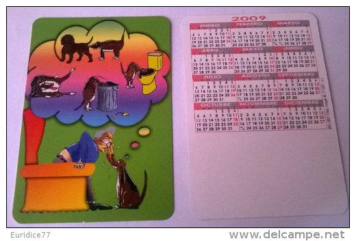 CALENDARIOS DE BOLSILLO -CHISTOSOS-12  AÑO 2009 - Autres