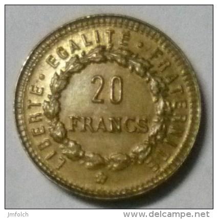 FICHA DE 20 FRANCOS FRANCESES - Francia