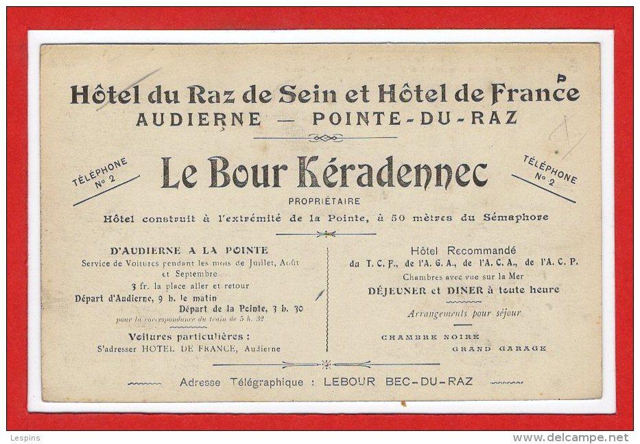 29 - POINTE Du RAZ -- L'Hôtel Du Raz De Sein - France