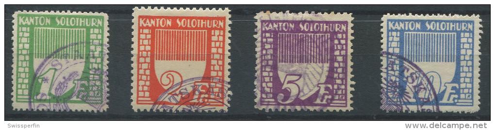 1107 - SOLOTHURN Fiskalmarken - Fiscaux