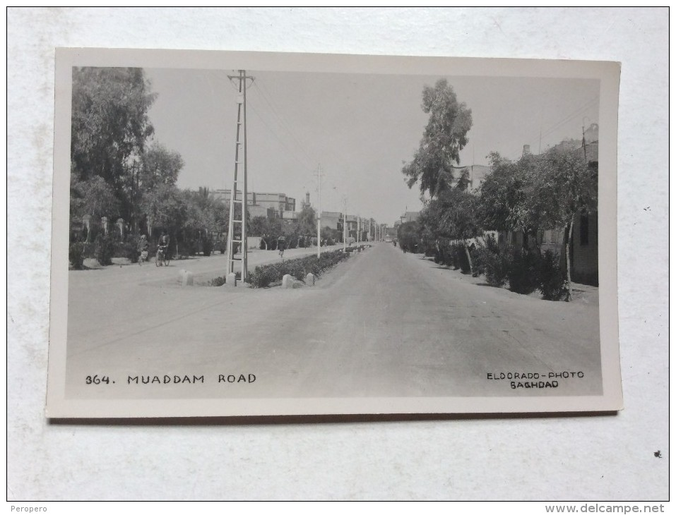 AK   IRAK  IRAQ    BAGHDAD   REAL PHOTO   ELDORADO PHOTO     MUADDAM ROAD - Iraq