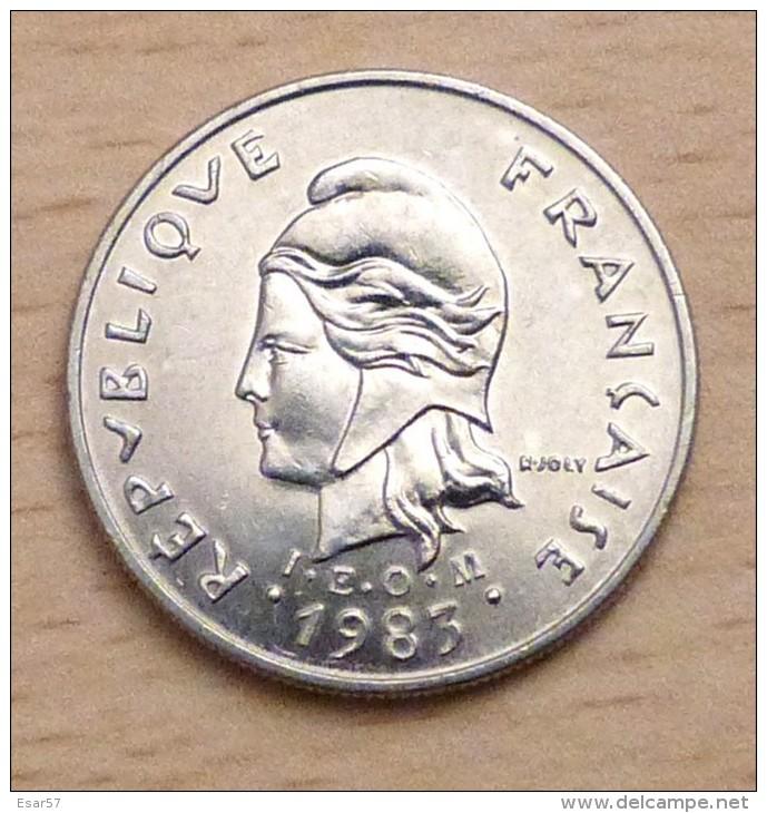 Nouvelle Calédonie 10 Francs 1983 - New Caledonia