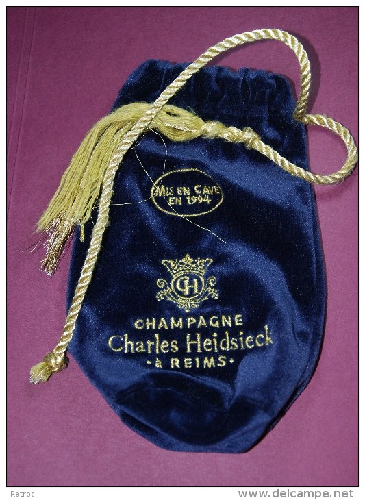 Champagne CHARLES HEIDSIECK - Sac De Velours - Champagne & Mousseux
