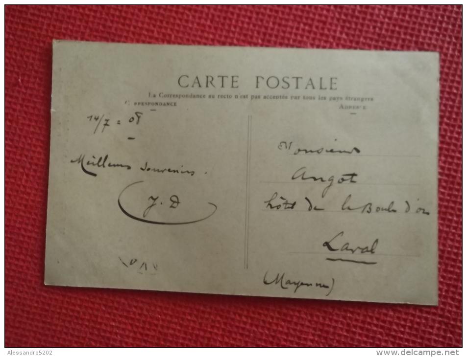 92 Frankreich France Robinson Le Vieux Chataigner Photo Betonrné 1908 Belle Animation - Francia