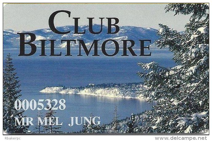 Tahoe Biltmore Casino - Crystal Bay, NV - Slot Card - Casino Cards