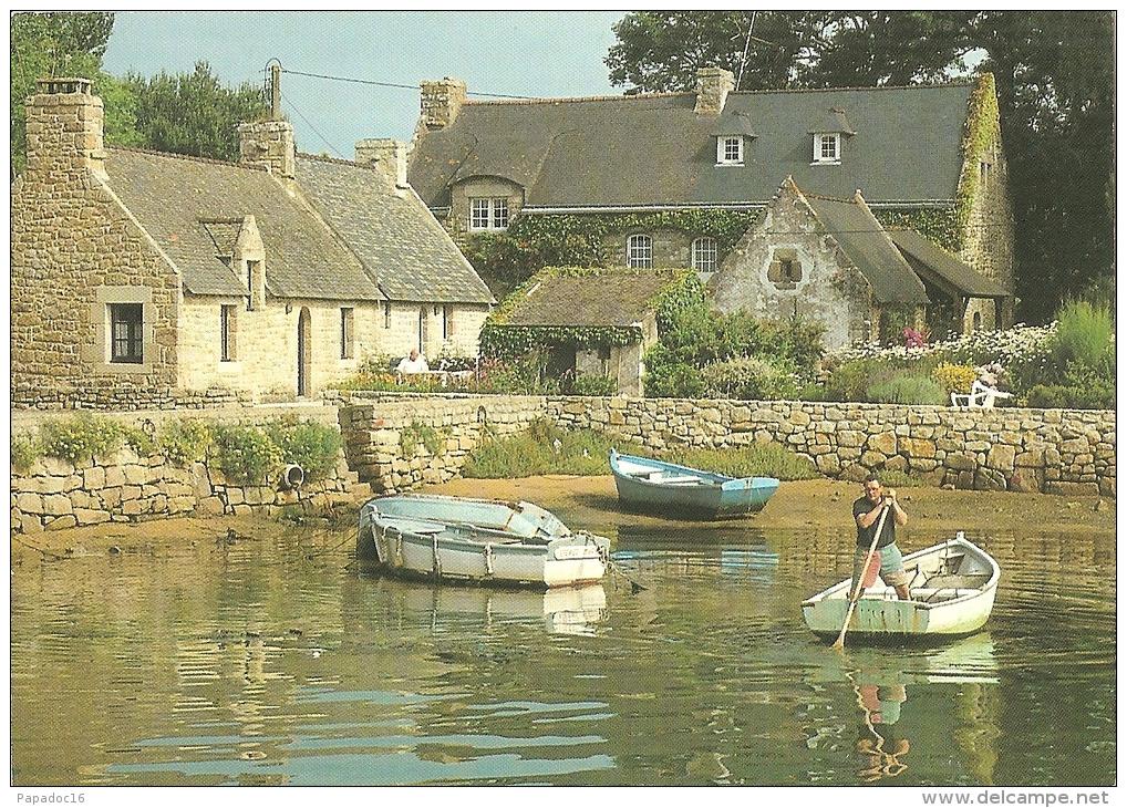 22 - Vacances Au Vieux Passage - CPM Editions D'Art JOS Le Doaré [Plouhinec - Barques] - Other Municipalities
