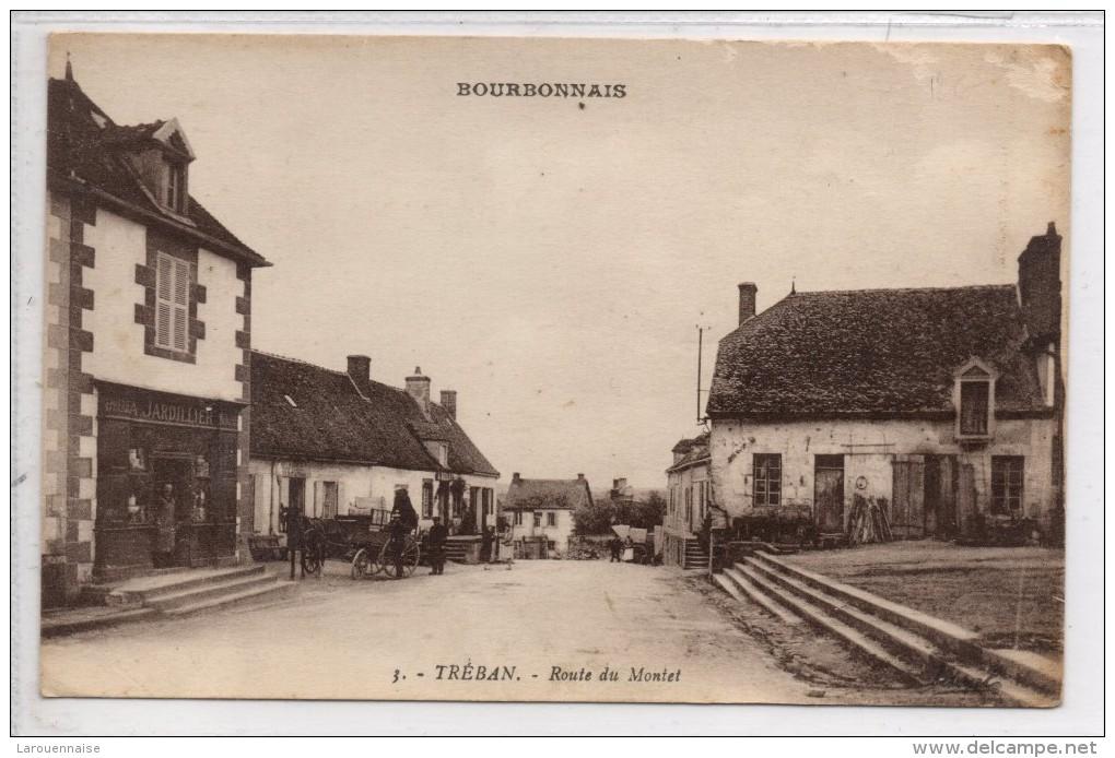 03 - TREBAN  - Route Du Montet - Autres Communes