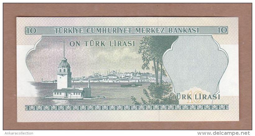 AC - TURKEY -  6th EMISSION 10 TL C 09 423 914  UNCIRCULATED - Turquie