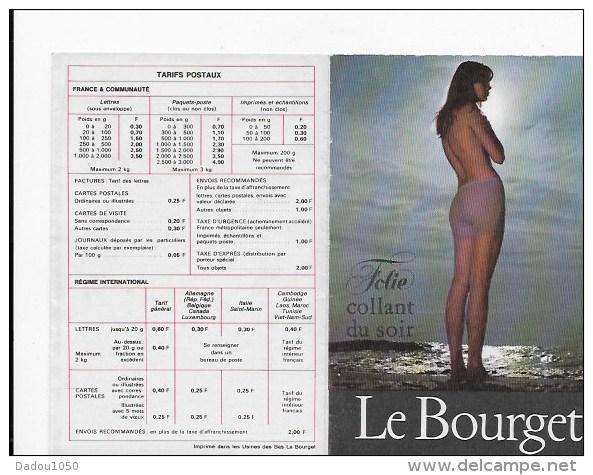 Calendrier De Poche 1968 - Calendriers