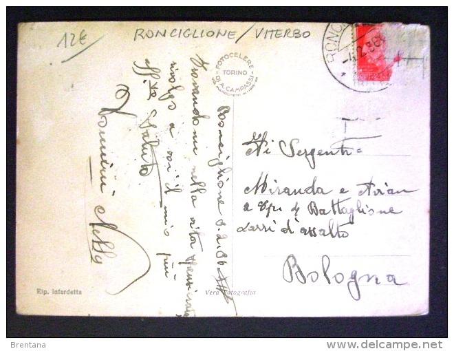 LAZIO -VITERBO -RONCIGLIONE -F.G. LOTTO N°515 - Viterbo