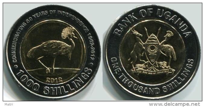 Uganda 1000 Shillings 2012 50 Years Of Independance UNC - Ouganda