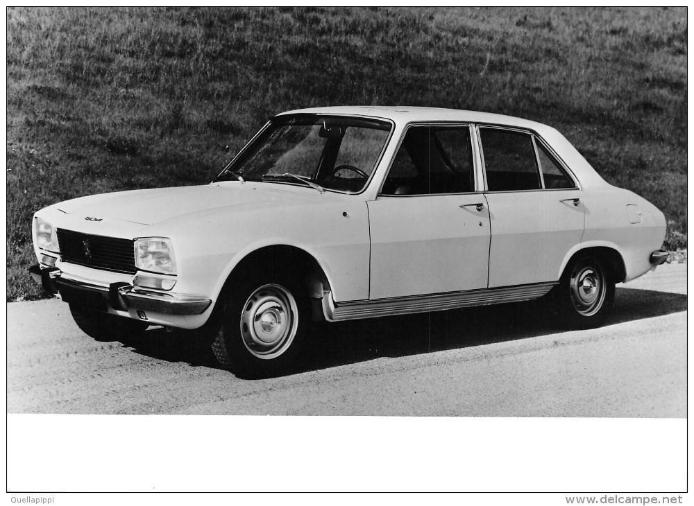 "04113 ""CARROZZERIA PININFARINA - FOTO NR. 915 - PEUGEOT 504 - BERLINA 1968"" FOTOGRAFIA ORIGINALE - Automobili"