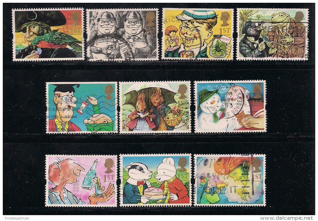 UK, 1993, Cancelled Stamp(s) , Greetings Stamps,  1431-1440, #14568 - 1952-.... (Elizabeth II)