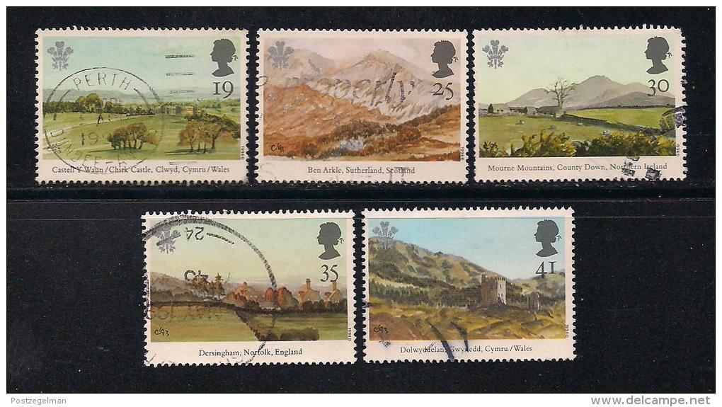 UK, 1994, Cancelled Stamp(s) , Investiture Of Prince Charles,  1503-1506 #14580 - 1952-.... (Elizabeth II)