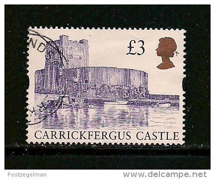 UK, 1995, Cancelled Stamp(s) , Castle,  1586,  #14592 - 1952-.... (Elizabeth II)