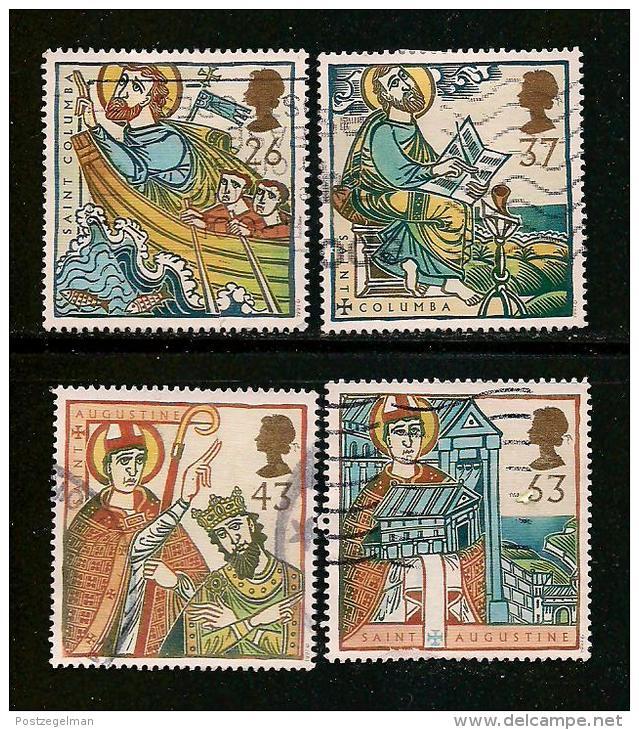 UK, 1997, Cancelled Stamp(s) , Religious Anniversaries,  1684-1687  #14605 - 1952-.... (Elizabeth II)